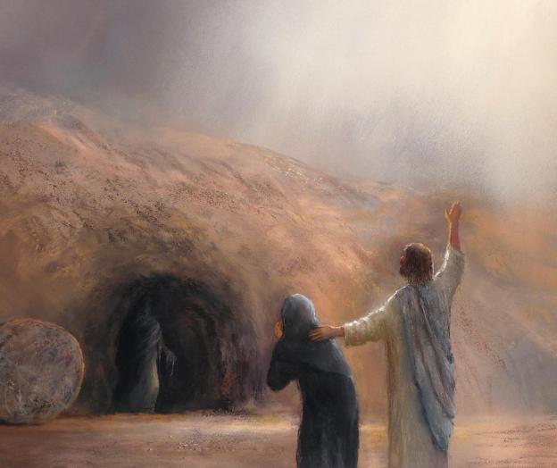 lazarus and jesus relationship