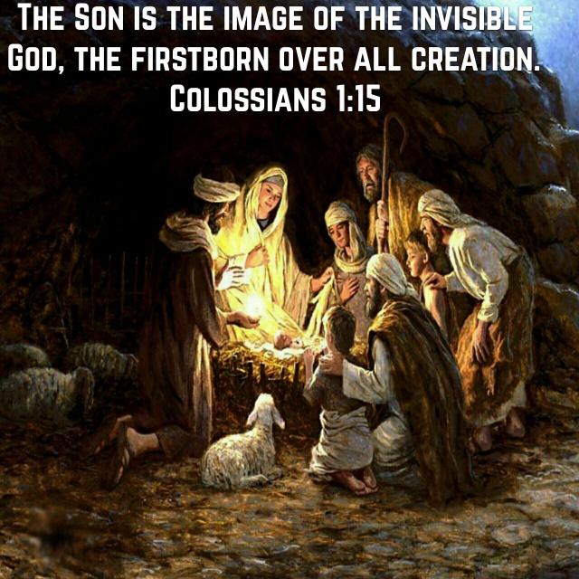 Image Of The Invisible God Unashamed Of Jesus